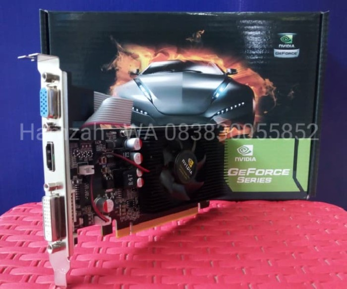 Foto Produk VGA PCI-E NVIDIA GEFORCE GT210 1GB Garansi 1 Tahun dari k-galaxy komputer