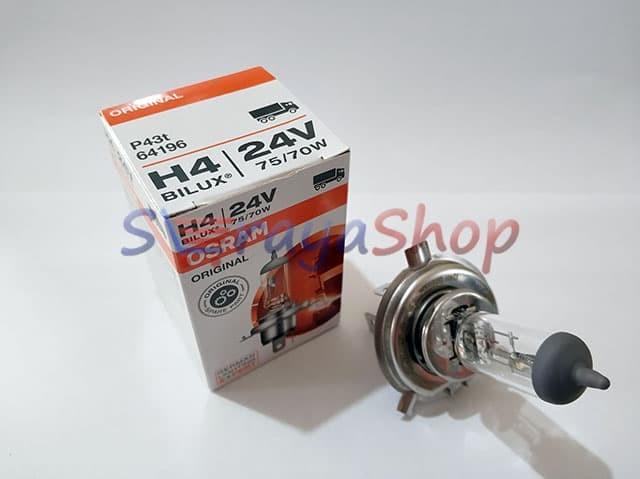 Foto Produk Lampu Halogen H4 24V 75/70W Osram dari Seraya Shop