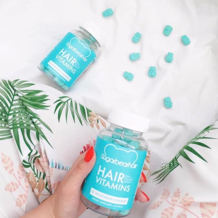 Sugarbearhair Sugar Bear Hair Permen Gum Vitamin Rambut ORIGINAL
