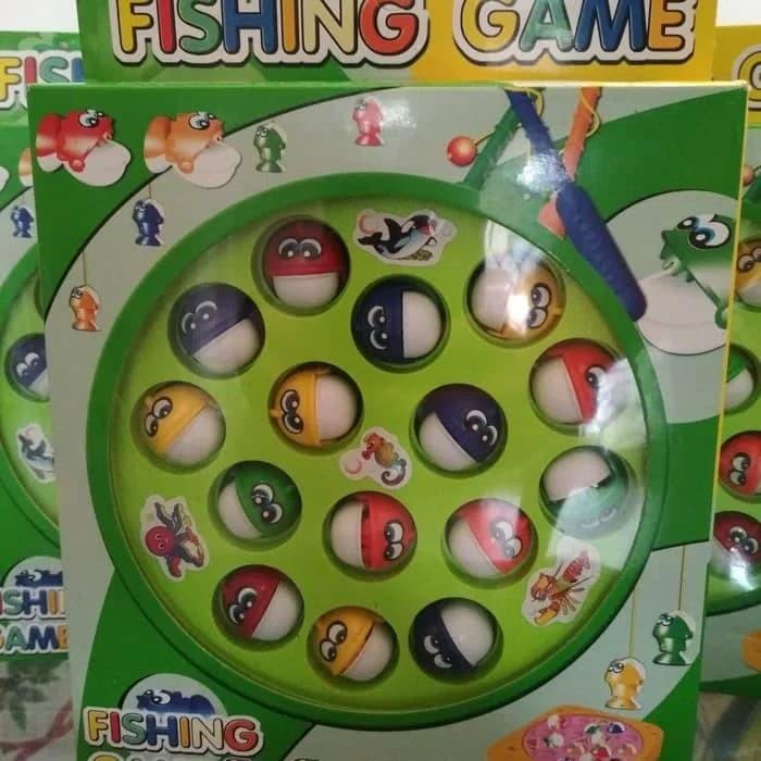 Foto Produk Fishing game main pancing ikan mainan edukasi anak dari SSJD