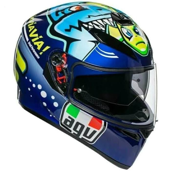 Jual Helm Agv K3 Sv Via Via Blue Agv K3sv New Kota Bekasi Doctor Helm Tokopedia