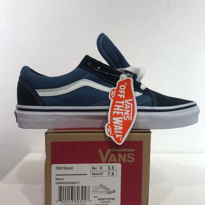 Jual VANS OLD SKOOL NAVY PERFECT KICKS - Ganteng Sneakers  0b05449a95