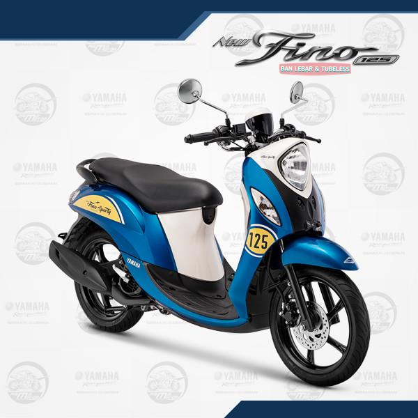 harga Yamaha fino sporty 125 blue core jakarta / tangerang - biru Tokopedia.com