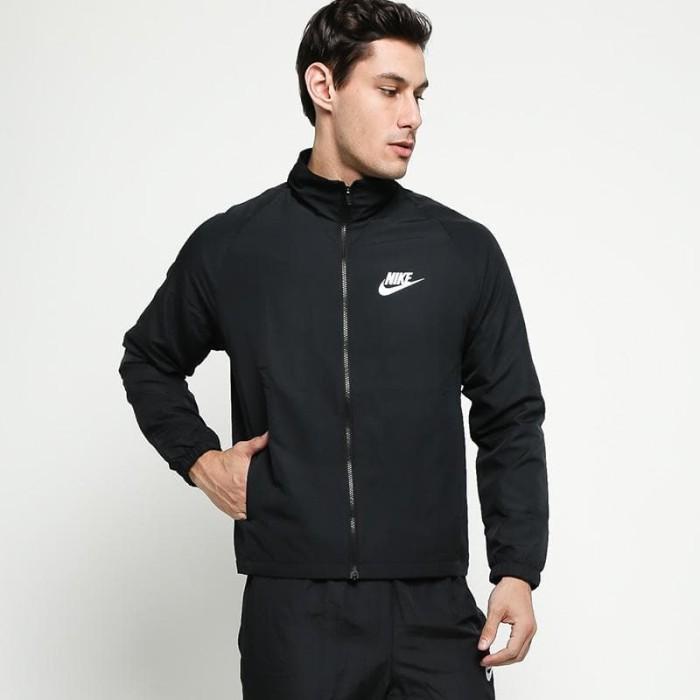 3b1f0c5781d4 Jual ORIGINAL NIKE Men Sportswear Track Suit Woven Basic Jacket - Black -  Kota Bandung - khieshop terpercaya   Tokopedia