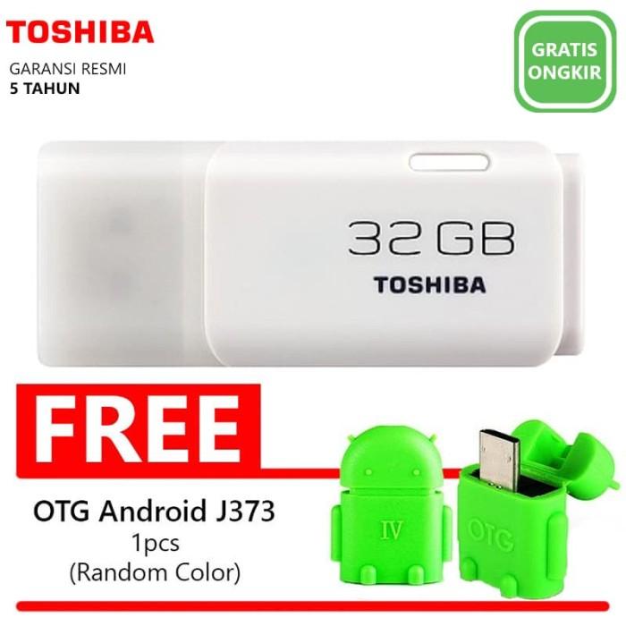harga Flashdisk toshiba hayabusa 32gb-w246+bonus otg micro usb android(j373) Tokopedia.com