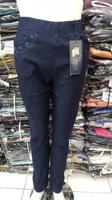 Jual Legging Celana Merk Saya Katun Stretch Import Celana Kerja 170 Kota Surabaya Bil Bil Shopp Tokopedia