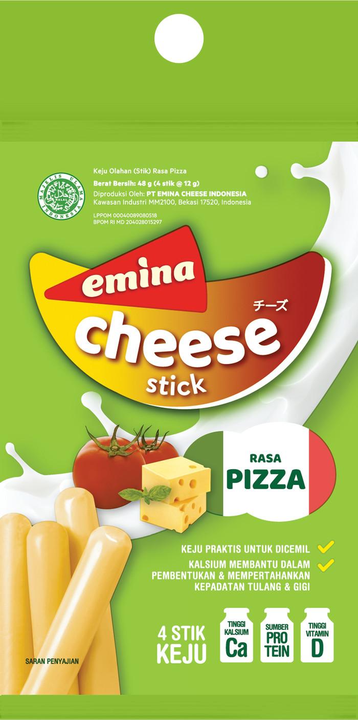 Foto Produk EMINA STICK CHEESE PIZZA ( 1 INNER = 7 PAK ) dari PT PANGAN LESTARI