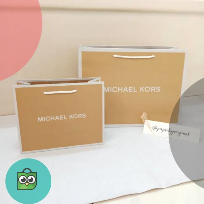 04494d165abd Jual Michael Kors Paperbag Authentic branded paper bag original ...