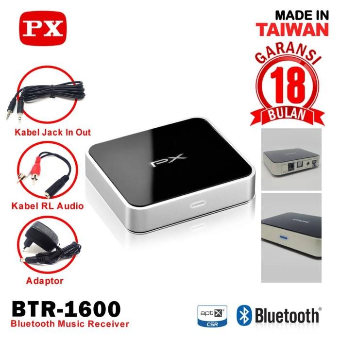 PX Bluetooth Music Receiver BTR-1600