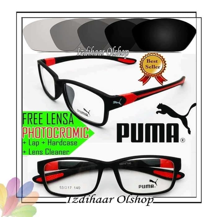 Jual PAKET FREAM FREE LENSA PHOTOCROMIC KACAMATA PUMA 833 ELASTIS ... df9481b048