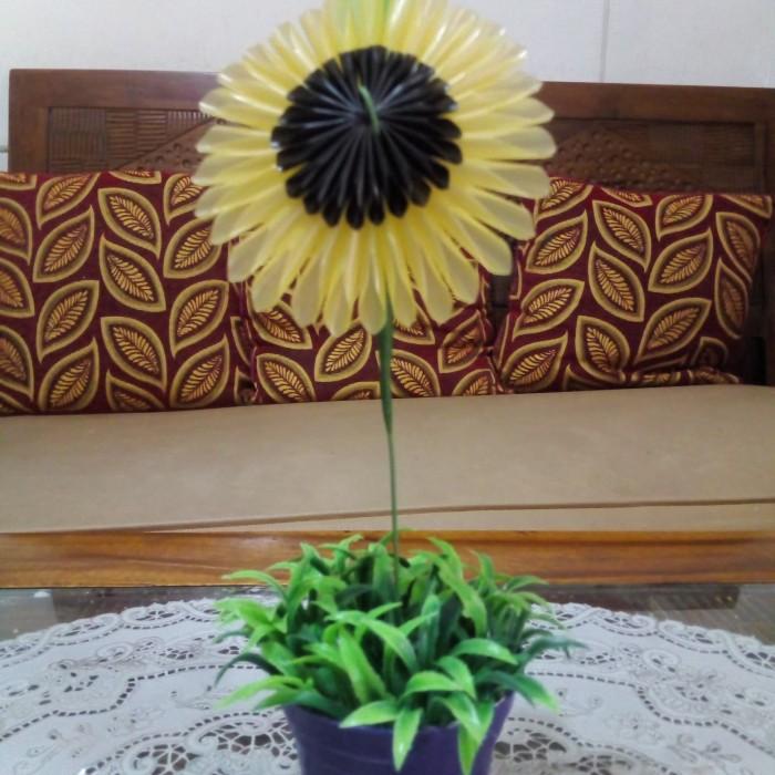 Jual Bunga Matahari Dari Sedotan Jakarta Timur Ibuku Cook Cake Tokopedia