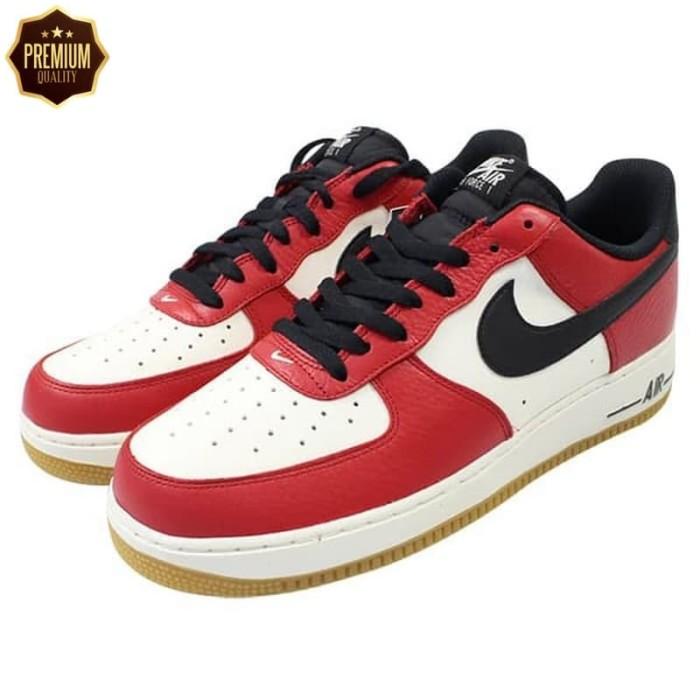 338e476d85c8 Jual TERLARIS- Nike Jordan Air Force 1 07 Low Chicago Red Perfect ...