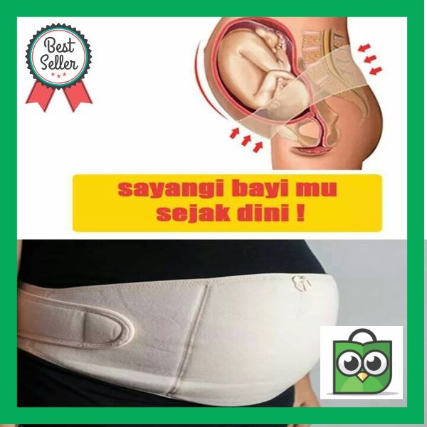 PREMIUM KORSET IBU HAMIL MATERNITY SUPPORT BELT BY SOREX