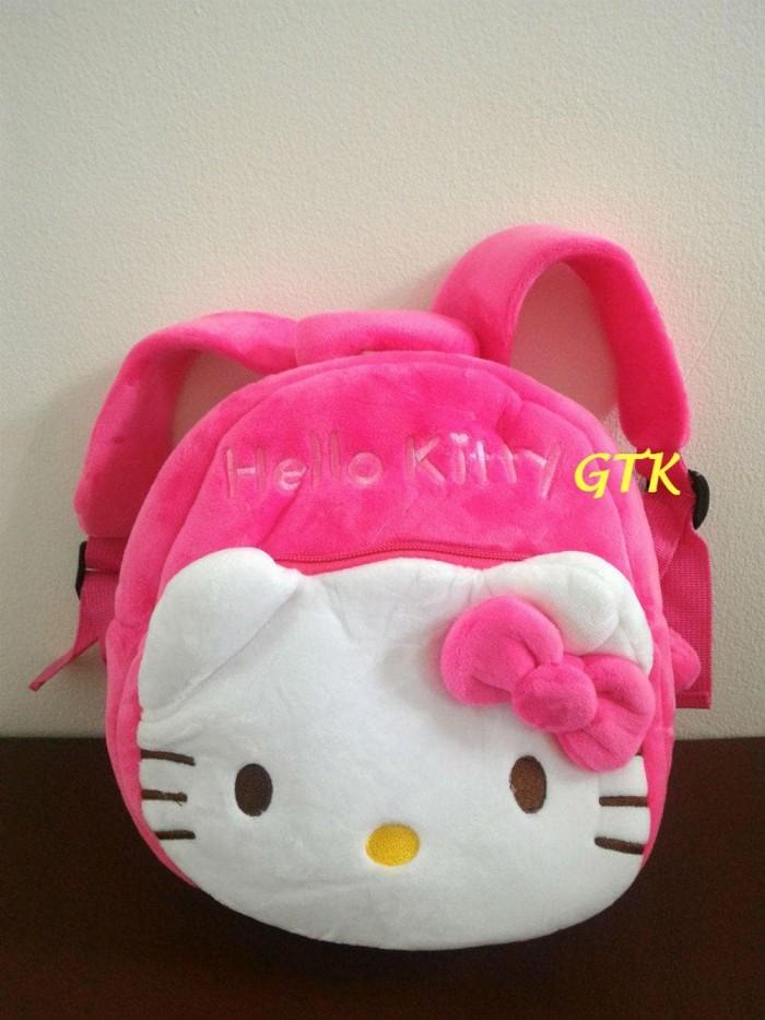 Tas Ransel Boneka Karakter Hello Kitty (2 Rest 25Cm) Tas Sekolah Anak 3c40804077