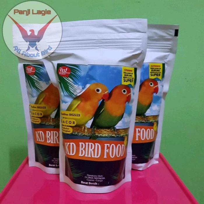 Jual Kd Bird Food Pakan Lovebird Berkualitas Jakarta Barat Subscane Shop Tokopedia