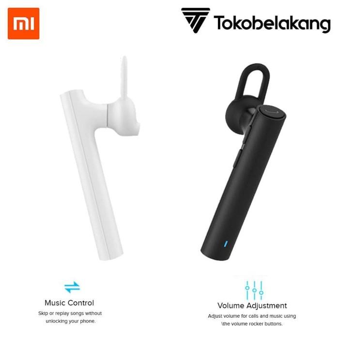 8a36dad10a3 Jual Xiaomi Mi Bluetooth Headset Youth Edition Lyej02Lm 100 Original ...
