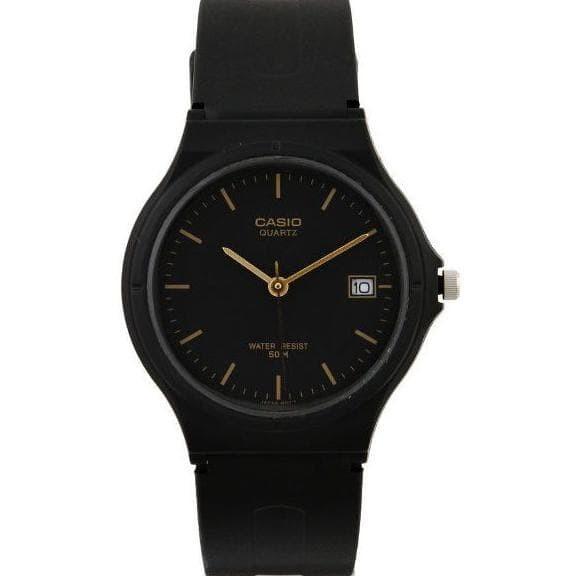 Casio Analog Watch Mw-59-1Evdf Jam Tangan Unisex - Hitam - Rubber Mond f231a4769b