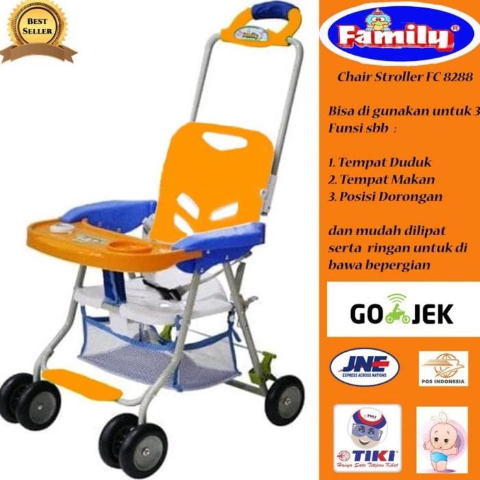 Kursi Makan Chair Stroller Family 8288
