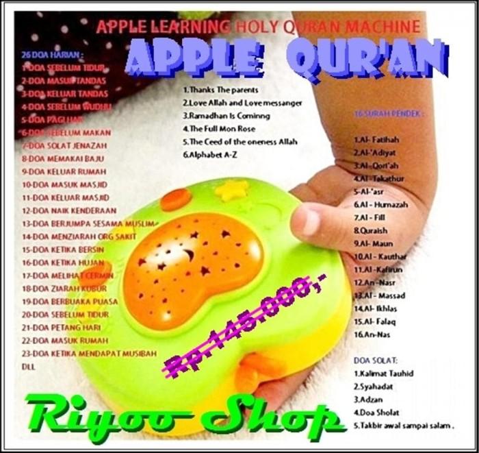 Jual Apple Quran Learning Belajar Hafalan Ayat Suci Al Quran Surat Pendek Dki Jakarta Dila Storest Tokopedia