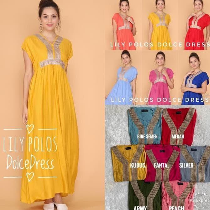 Foto Produk Daster Arab/India/Dubai/Turki Dolce Lily Dress Busui dari dimas amelia