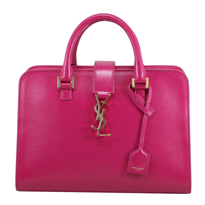 Foto Produk Saint Laurent Bo Monogram Fuchsia I7342 dari SECOND CHANCE