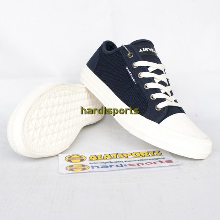 Jual Sepatu Sneaker Pria Airwalk Keon Navy dan Grey - ORIGINAL - Do ... f89bc951ae