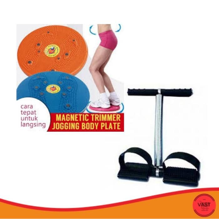 AJ03 Paket Murah Alat Pelangsing Tubuh Magnetic Trimmer Body Plate
