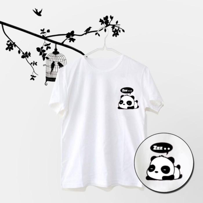 79f265995 PROMO MichelleStore T-shirt / Kaos Wanita / Tumbler Tee Sleeping Panda