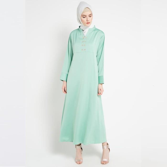 JV Hasanah Asyifa Cavali Dress - Mint