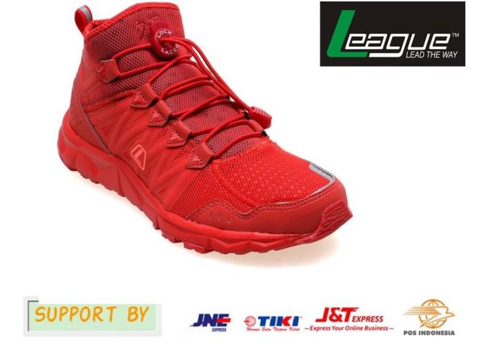 Sepatu League Running Sepatu Lari Pria Sepatu Olahraga Sepatu League ... 187e3d048d