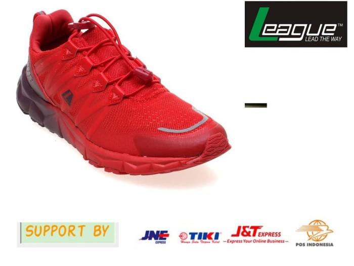 Jual League Kumo 1.5 M Sepatu Lari Pria -Flame Scarlet-Burgundy ... 10fd33ff4b