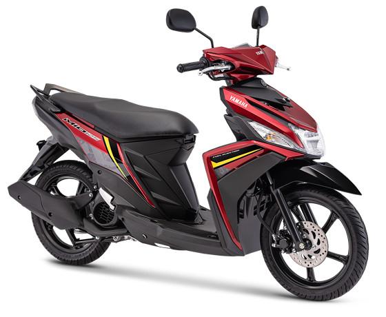 harga Sepeda motor yamaha type mio m3 125 bandung cimahi nik 2019 - merah Tokopedia.com