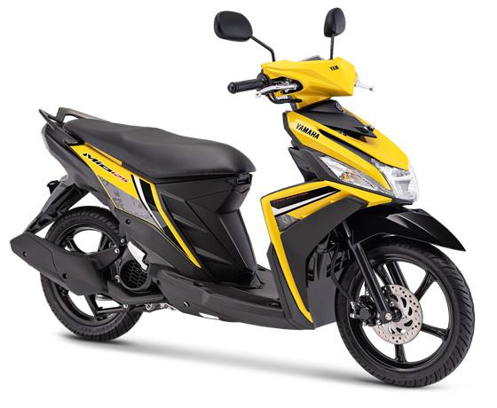 harga Sepeda motor yamaha type mio m3 125 bandung cimahi nik 2019 - kuning Tokopedia.com