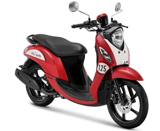 harga Sepeda motor yamaha type fino sporty bandung cimahi nik 2019 - merah Tokopedia.com