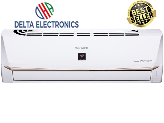 harga Sharp ah-7vey[3/4pk/390w]tech inverter w-flex louver+pasangpipa set5 Tokopedia.com