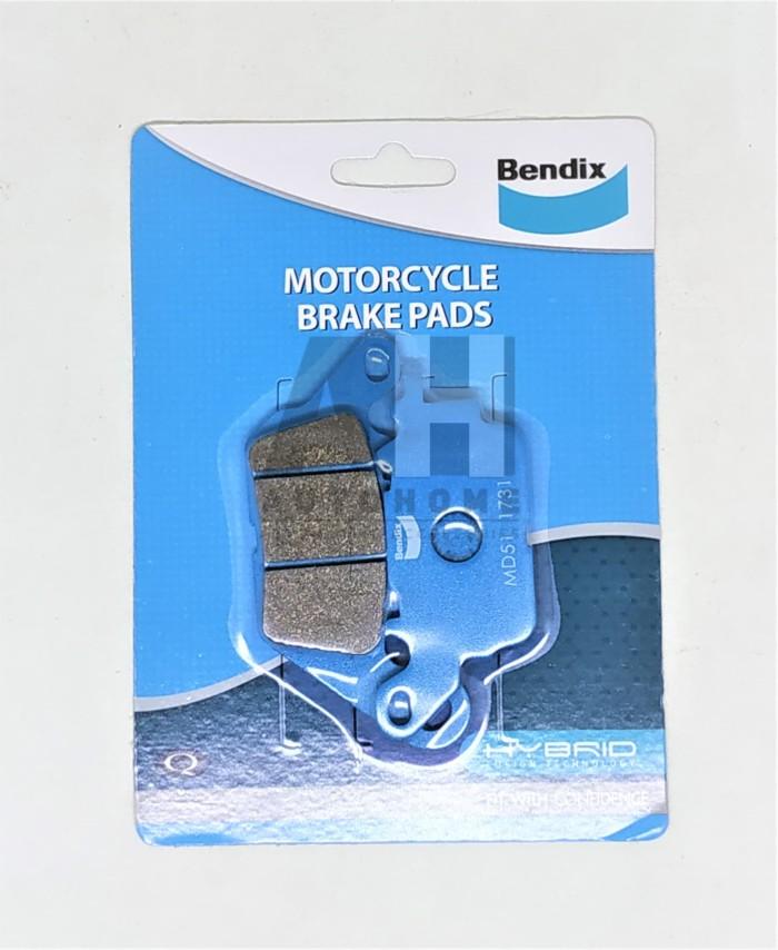 Foto Produk BENDIX MD51 - Kampas Rem Depan Yamaha NMax N-Max N Max, MX King 150 dari Auto Home