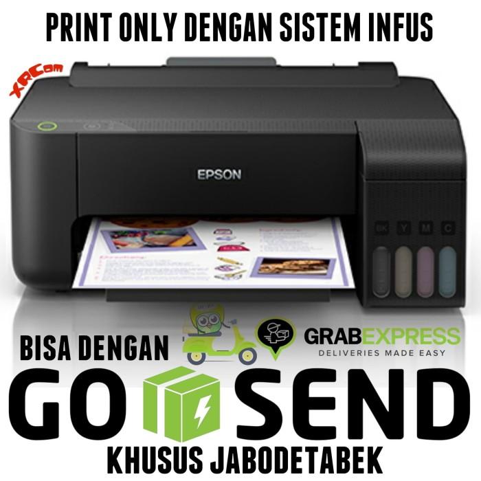 Foto Produk Printer Epson L1110 EcoTank pengganti Epson L310 print only L 1110 dari XRcom