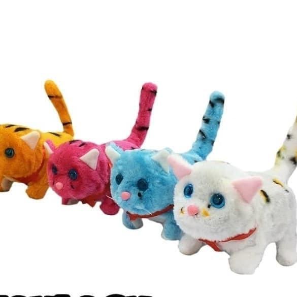 Jual Mainan Anak Boneka Kucing Kucing Robot Bergerak Lucu Free Batrai Kota Surabaya Onlinesuip Tokopedia