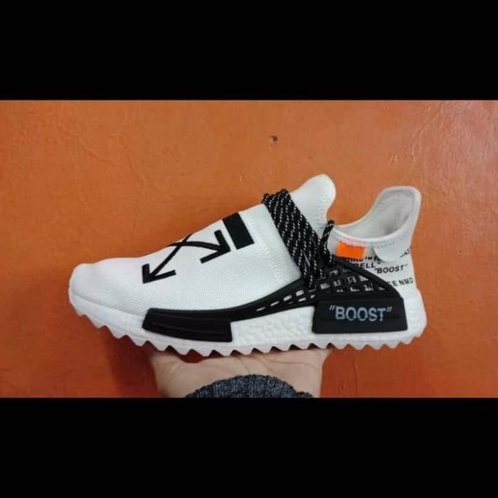 the best attitude e48bb 58297 Jual Sepatu Sneakers Adidas Human Race x Off White Black - DKI Jakarta -  ridoshop9   Tokopedia