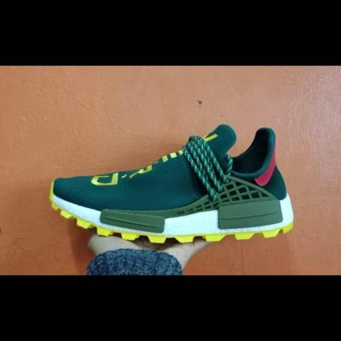 new style 046e2 40b3f Jual Sepatu Sneakers Adidas Human Race Dragon Nerd Green - ridoshop9    Tokopedia