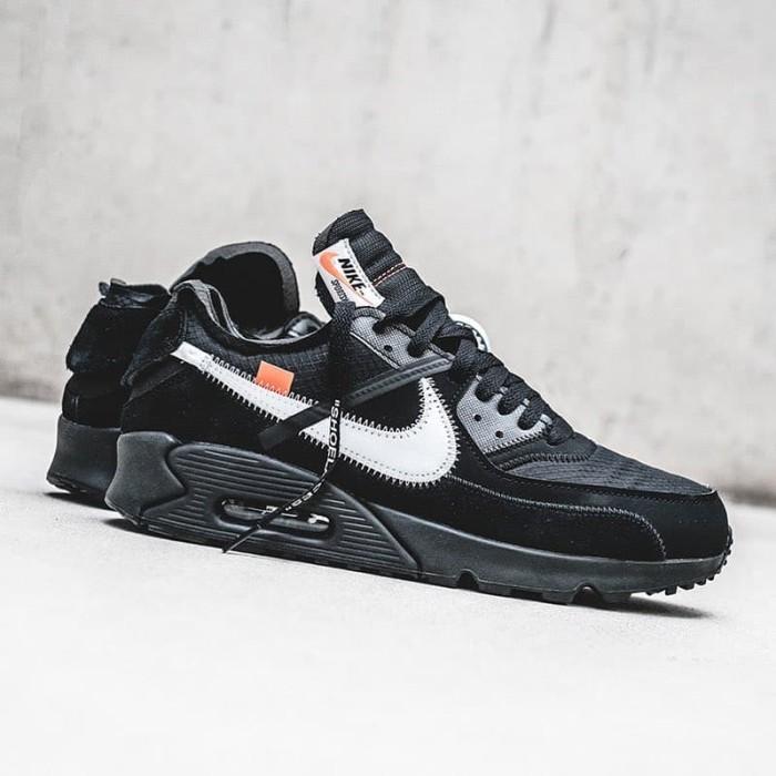 hot sale online 18870 6eadf Nike x Off-White (offwhite) Air Max (airmax) 90 Black