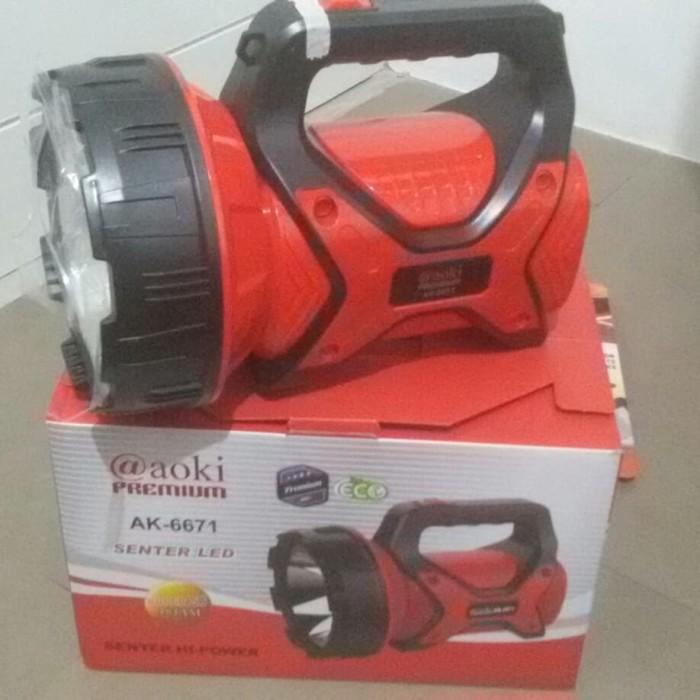 Foto Produk Senter cas senter besar cas senter charge premium AOKI 6671 15W dari LOYLOY