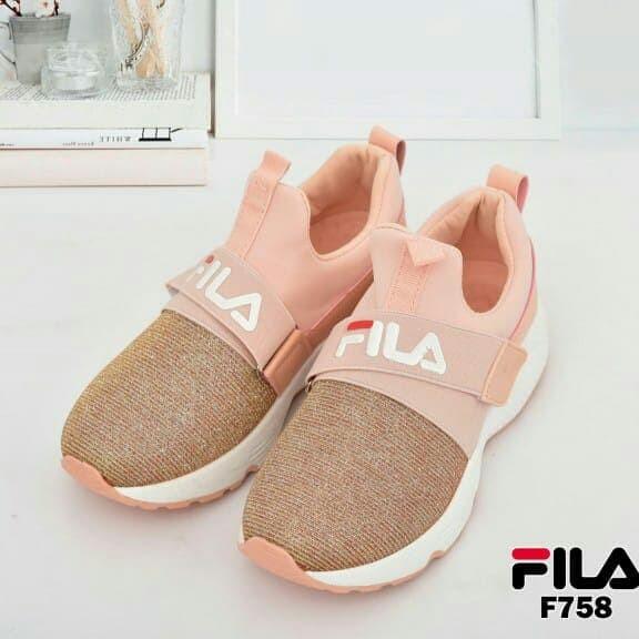 002b40f61f Jual Sepatu Fila Sneakers F-758 Semi Premium - shope53   Tokopedia