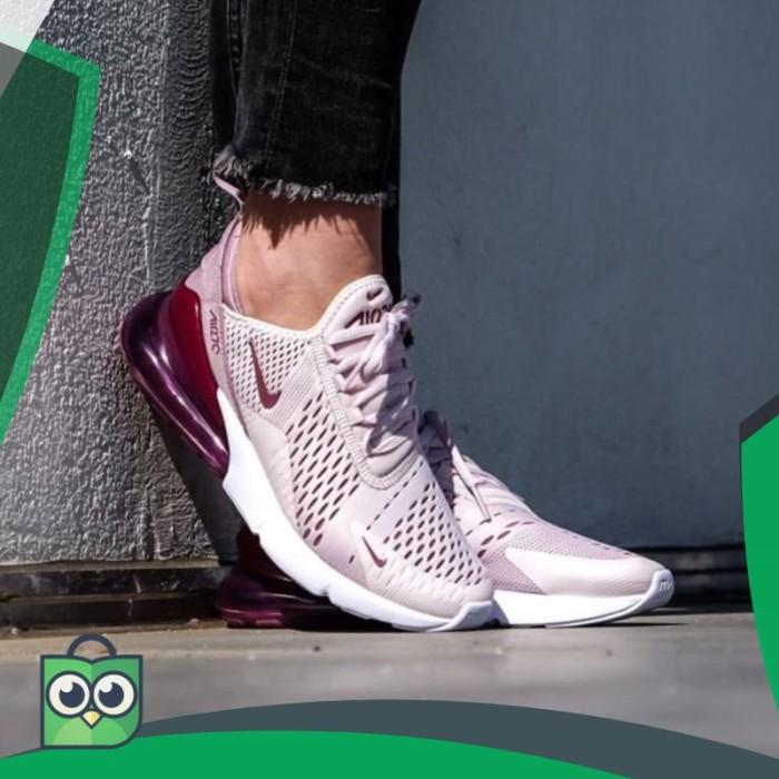 e4753fc81fb Jual Sepatu Nike Airmax 270 Barely Rose Women Premium Quality Made ...