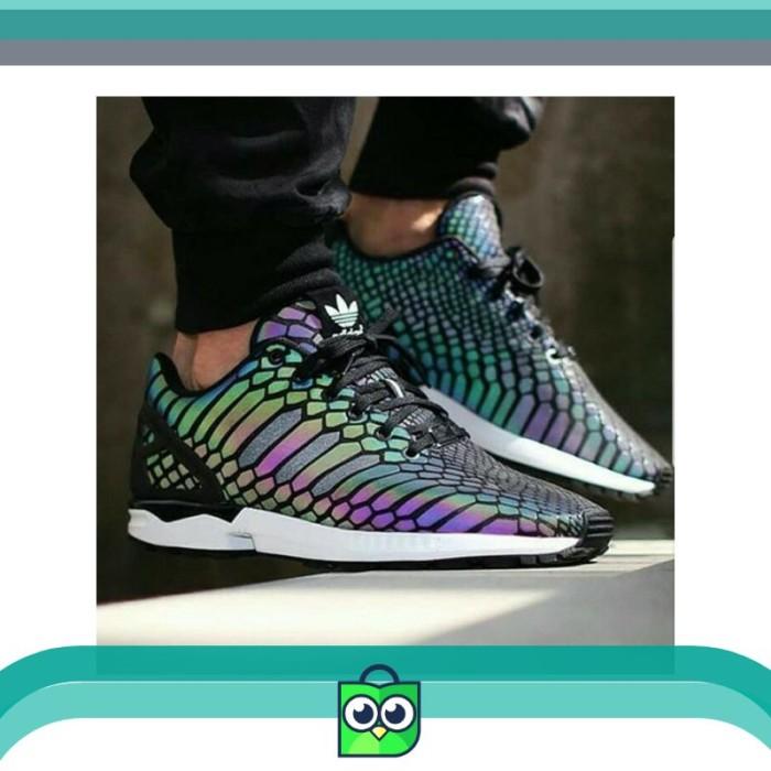 Jual Termurah Sepatu Adidas Zx Flux Zeno Glow In The Dark