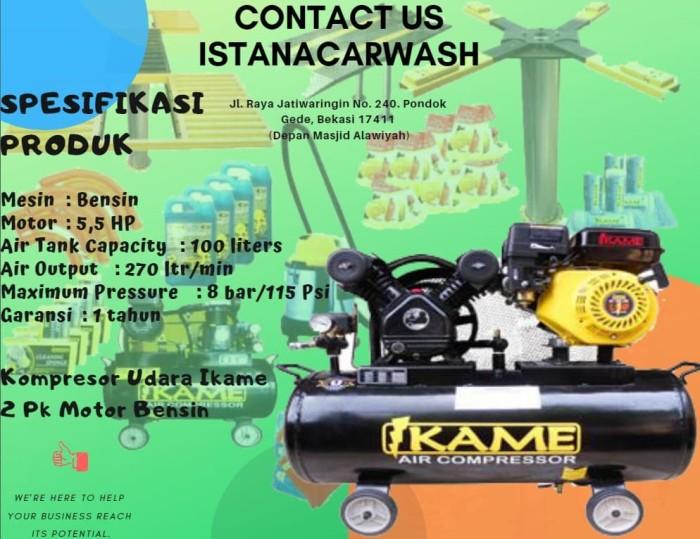 Kompresor Angin Ikame 2 Pk Motor Bensin utk isi angin ban mobil motor 34329104_2a3461a1-3a7d-4d07-be26-f93beacad593_994_766