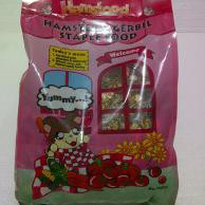 Hamsfood Hamster & Gerbil Stapple - 1 kg - Makanan Hamster 1 kg