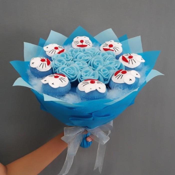 Buket Bunga Doraemon Kado Wisuda Valentine Ulang Tahun Anniversary 245626b551