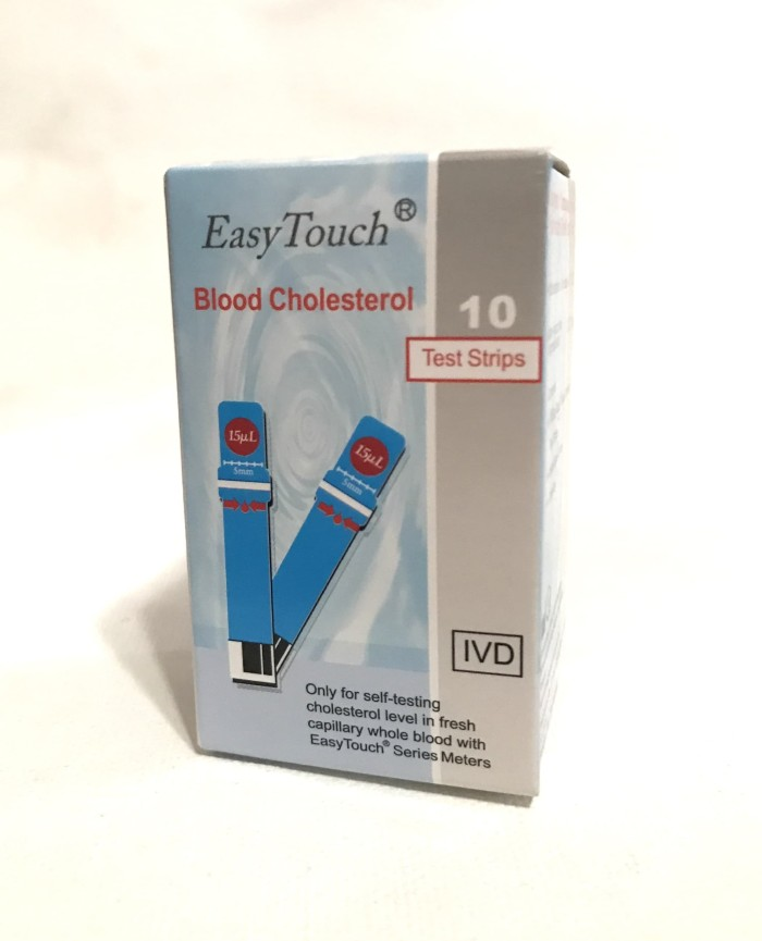 Foto Produk Easy Touch Kolesterol / Easytouch Cholesterol 10 test strps dari Gudang Sehat Store