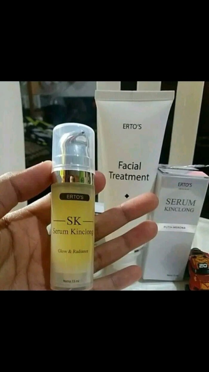 Jual Paket Hemat Ertos Facial Treatment Plus Serum Klincong Ertos